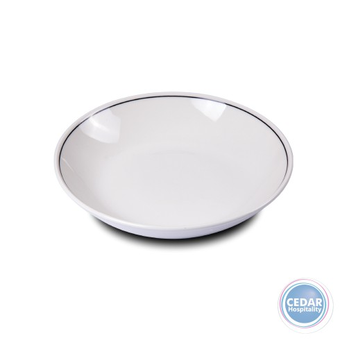 Steelite Performance Slimline Blackline Coupe Bowl - 2 Sizes