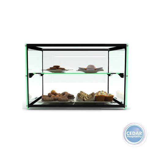 Sayl Ambient Glass Display Two Tier 920x360x360mm