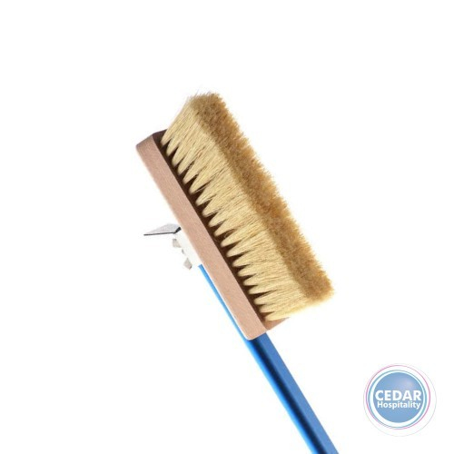 Gi Metal Brush - Natural Bristles with 150cm Aluminium Handle