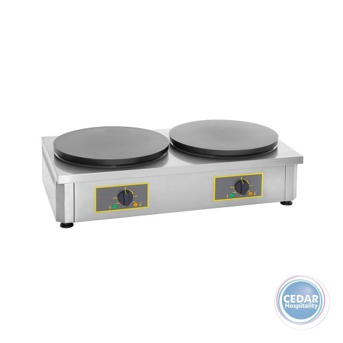 Roller Grill Double Crepe Machine 400mm