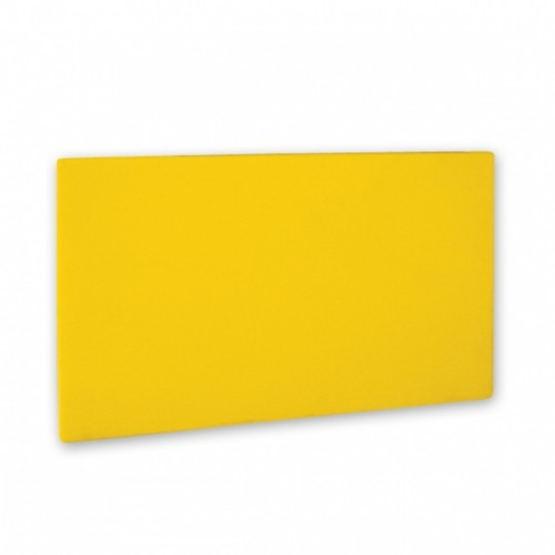 Polypropylene Cutting Boards Yellow - 6 Sizes