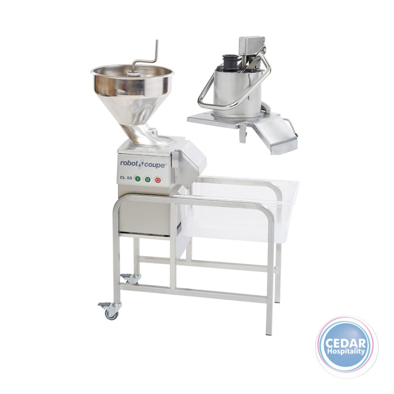 Robot Coupe Vegetable Preparation Machine CL 55 2 Feed-Heads