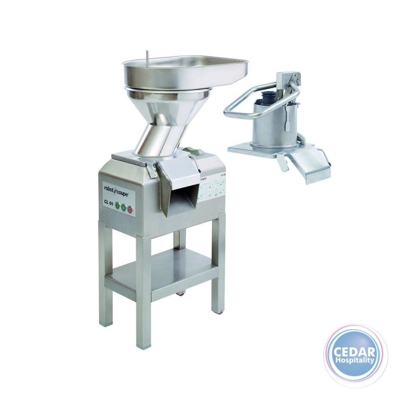 Robot Coupe Vegetable Preparation Machine CL 60 2 Feed-Heads