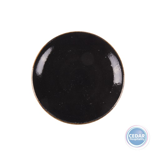 Steelite Craft Coupe Plate - LIQUORICE - 2 Sizes