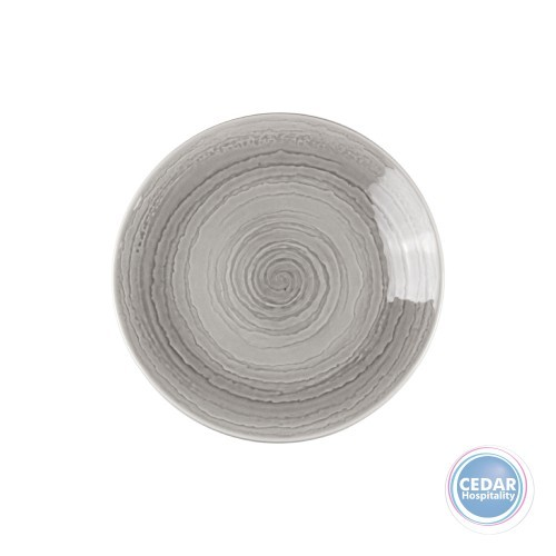 Steelite Performance Scape Coupe Plate Grey - 2 Sizes