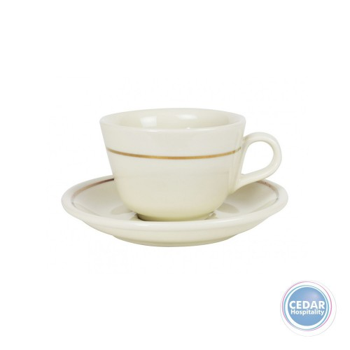 Robert Gordon Standard Medium Cup & Saucer 160ml - 3 Colours