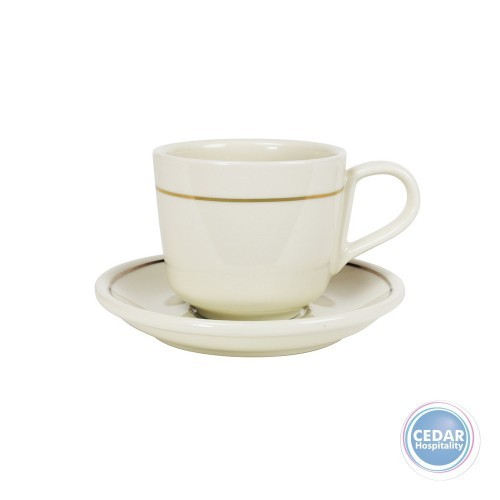 Robert Gordon Standard Large Cup & Saucer 280ml - 3 Colours