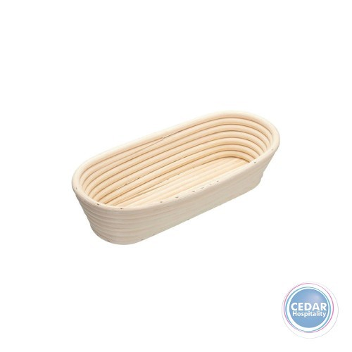 Home Made Oval Bread Loaf Proving Basket 27x13x6cm