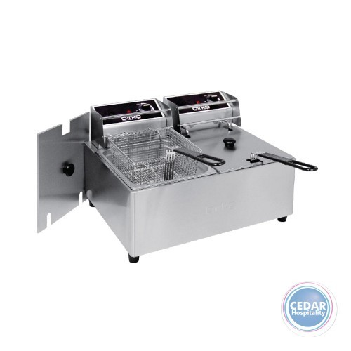 Birko Fryer - Double Basket 5L-2x10amp