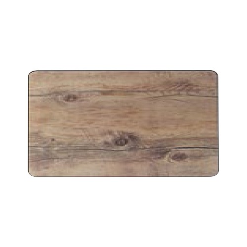 Melamine Driftwood Flat Gastronorm Tray / Platter - 1/1 size