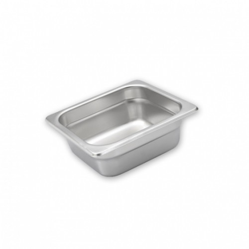 Steam Pans S/S 1/6 Size 176x162mm - 3 Sizes