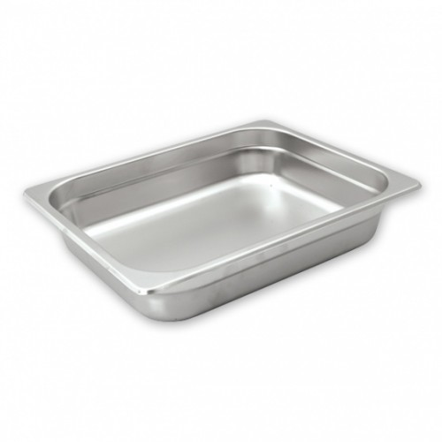 Steam Pans S/S 1/2 Size 325x265mm - 4 Sizes