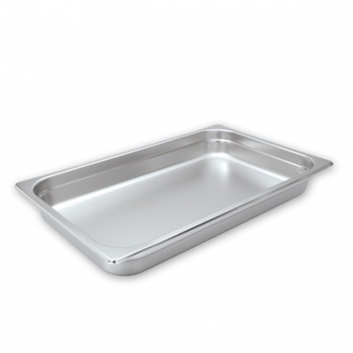 Steam Pans S/S 1/1 Size 530x325mm - 4 Sizes