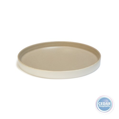 Ariane Selas Straight Plate - Desertsage / White Matt - 2 Sizes