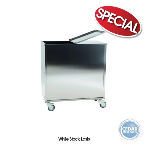 Flour Carrier For Flour Transporting S/S - 38x72x76cm
