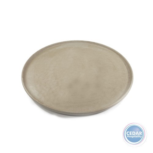 Tablekraft Soho Round Platter Stone – 330mm