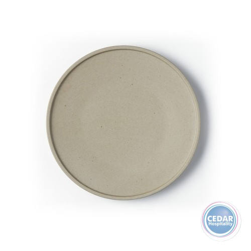 Tablekraft Soho Round Plate Stone - 3 Sizes