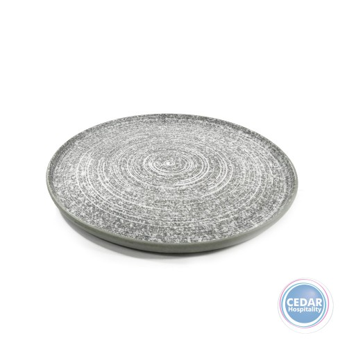 Tablekraft Soho Round Platter Effect - 330mm