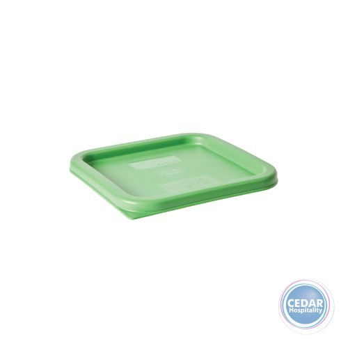 Lids for Clear Polycarb Square Storage Container - 3 Sizes