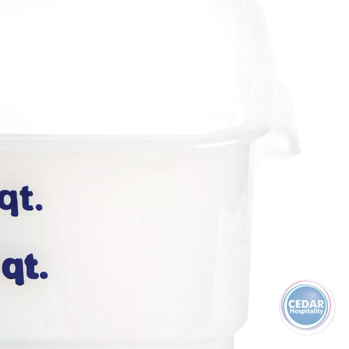 CamSquare Polypropylene Food Container Translucent - Sizes