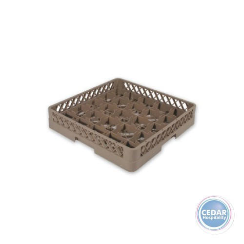 Glass Rack 25 Compartment Extender - Beige