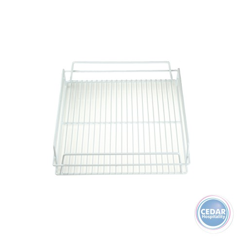 Pub Glass Tray / Basket PVC Coated - White