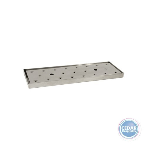 Drip Tray Beer Stainless Steel - Oblong