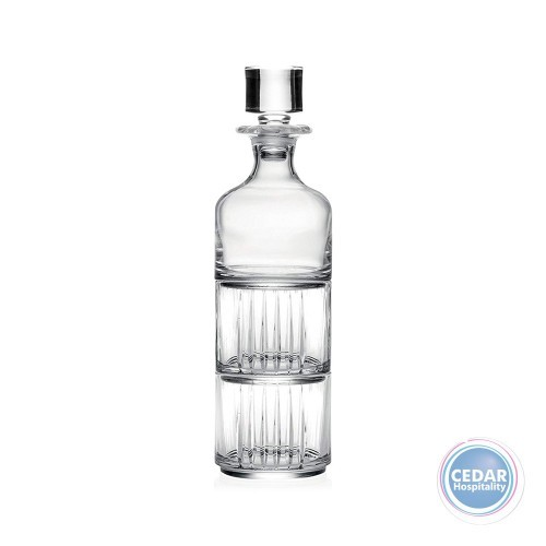 Whiskey Decanter Combo with Glasses - 3 Pce Set