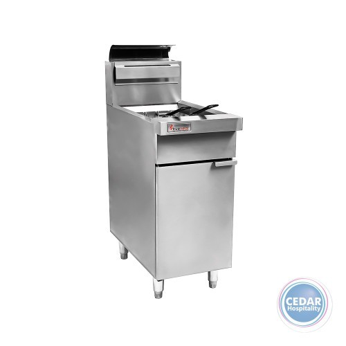 Trueheat Deep Fryer 400mm Open Pot *Nat Gas*