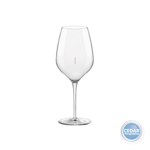 inAlto Tre Sensi Wine Glass 550ml - Vertically Lined 150ml & 250ml
