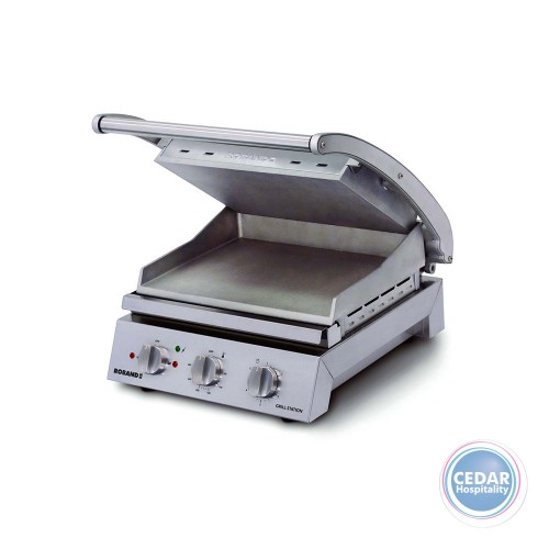 Roband Contact Grillstation Smooth Plate - 815S