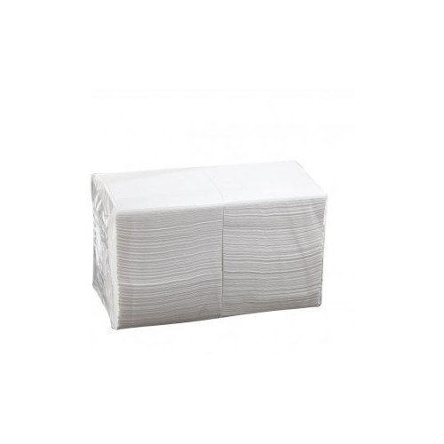 Dinner Napkins Embossed - 2 PLY - White