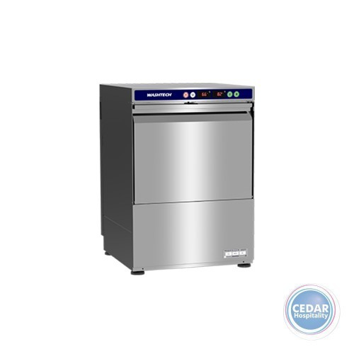Washtech XU Economy Undercounter Dishwasher/Glasswasher 500mm Rack
