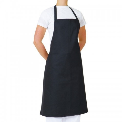 Apron With Pocket - Heavy Duty Black