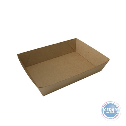Take Away Food Tray Brown BetaBoard - 60 PCE