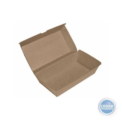 Snack Boxes Large Brown BetaBoard - 50 PCE