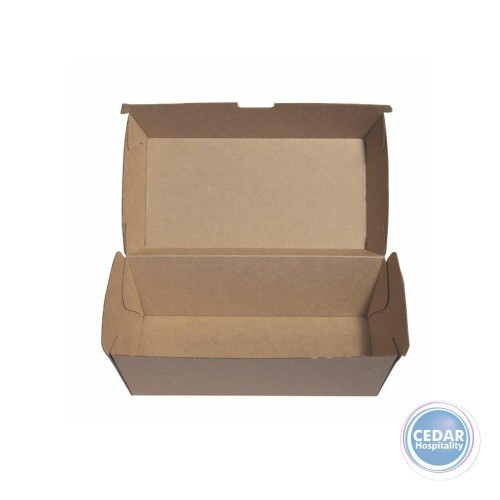 Snack Boxes Regular Brown BetaBoard - 50 PCE