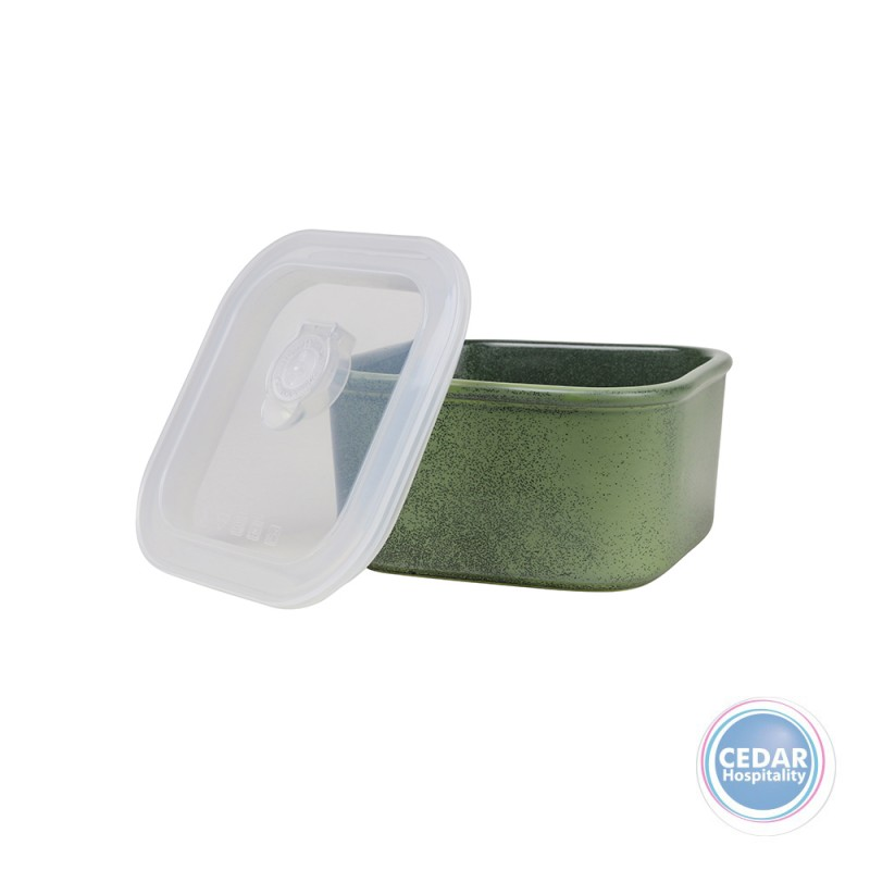 Robert Gordon Feast Square Travel Container Selby Green 750ml