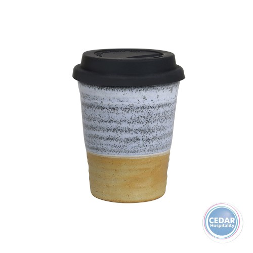 Robert Gordon Carousel Cup Large 375ml with White Lid - 7 Colours