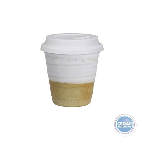 Robert Gordon Carousel Cup Small 280ml with White Lid - 7 Colours