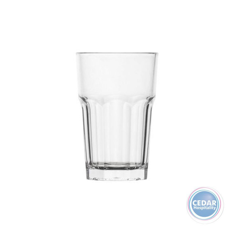 Polysafe Polycarbonate Rocks Highball 300ml Stackable