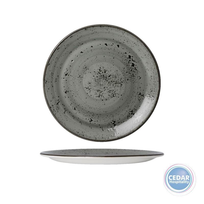 Steelite Performance Urban Smoke Coupe Plate - 2 Sizes