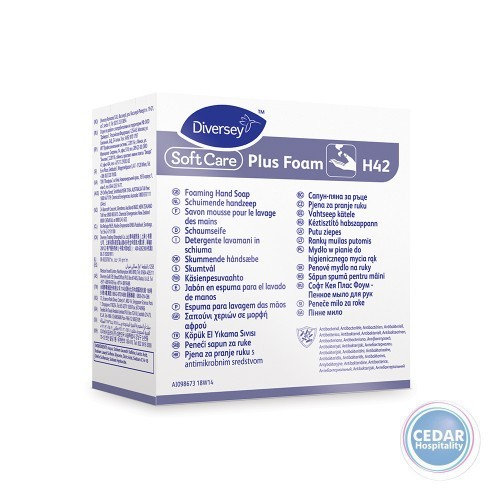 Johnson Diversey Soft Care Plus Foam Soap H42 700ml