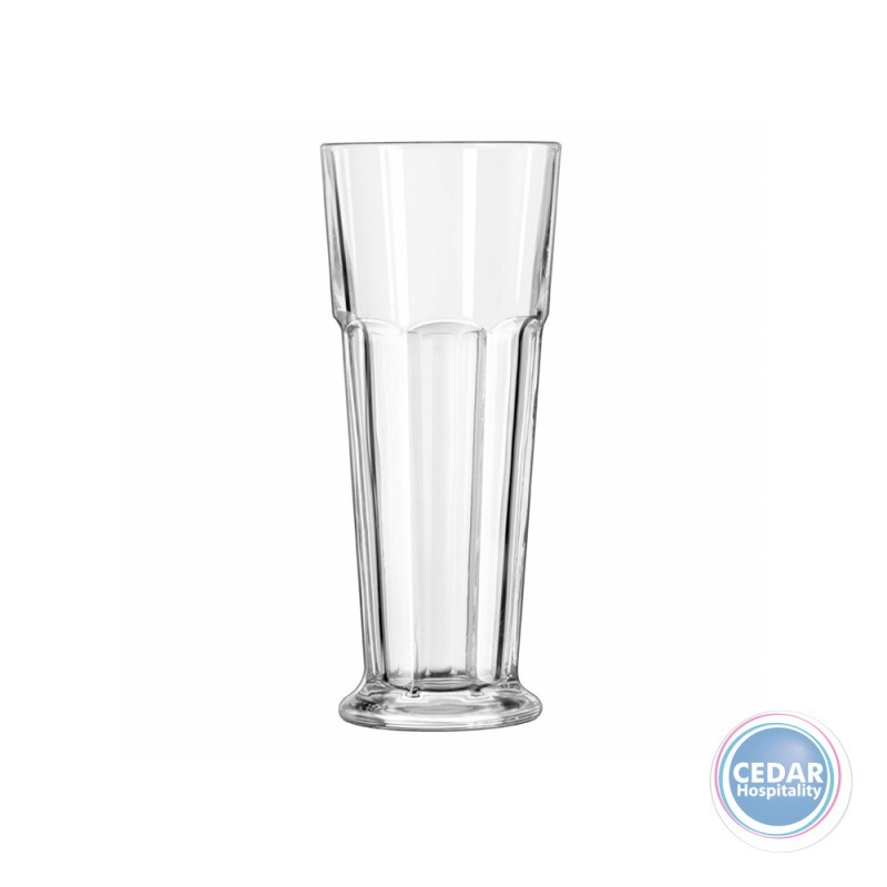 Libbey Gibraltar Footed Pilsner Glass 414ml - Box Qty Only - 24 P/Box