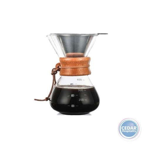 Coffee Culture Pour Over Coffee Maker / Dripper 400ml