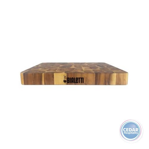 Bialetti Acacia End Grain Butcher Block - 46 x 34 x 6cm
