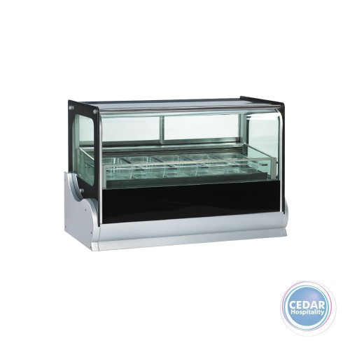 Anvil Cake Display 4 Tier NDSV4760 - 1800 x 680 x 1350 mm