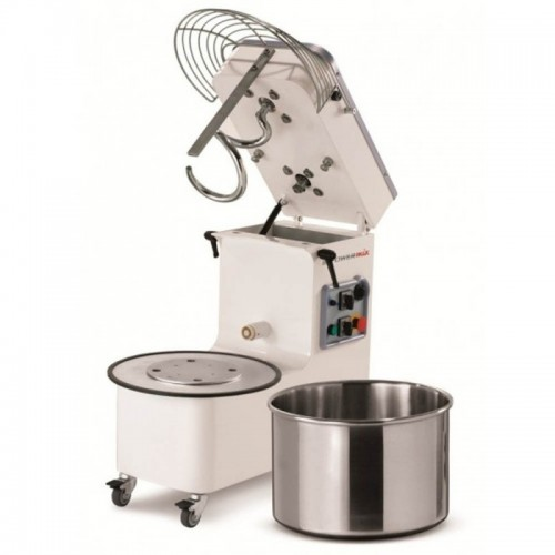 Mecnosud Spiral Mixer Tilting Head Removable Bowl - 4 Models