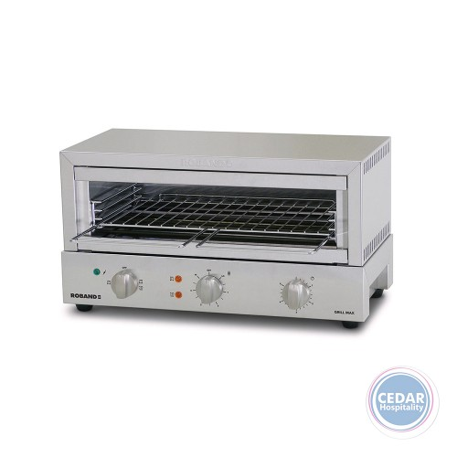 Roband Grill Max Toaster 8 Slice - Glass Element