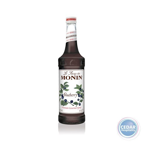 Monin Syrup 700ml - Blueberry
